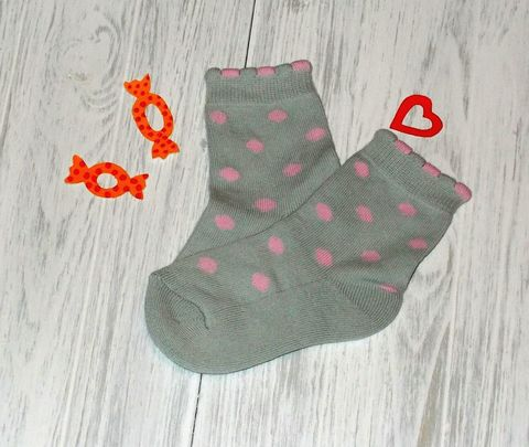 Носки для девочки плюш-стопа Parasocks