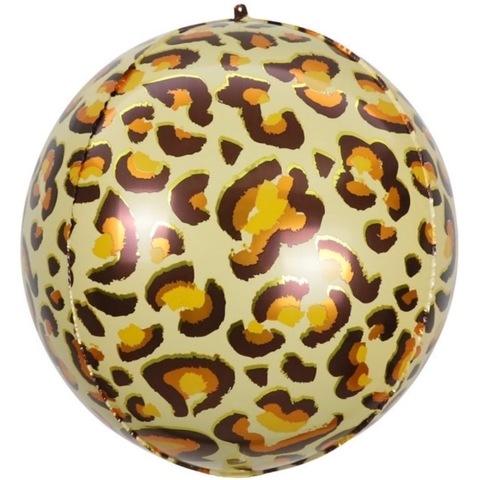 Сфера 3D, пятна леопарда, 51 см