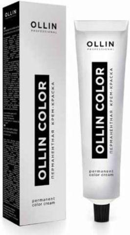 OLLIN color 10/5 светлый блондин махагоновый 60мл перманентная крем-краска для волос