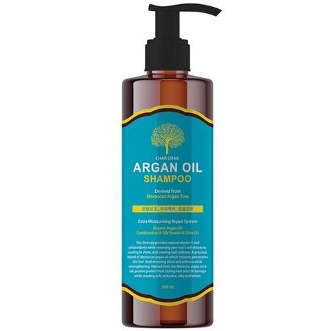 CHAR CHAR Шампунь для волос АРГАНОВЫЙ Argan Oil Shampoo, 500 мл