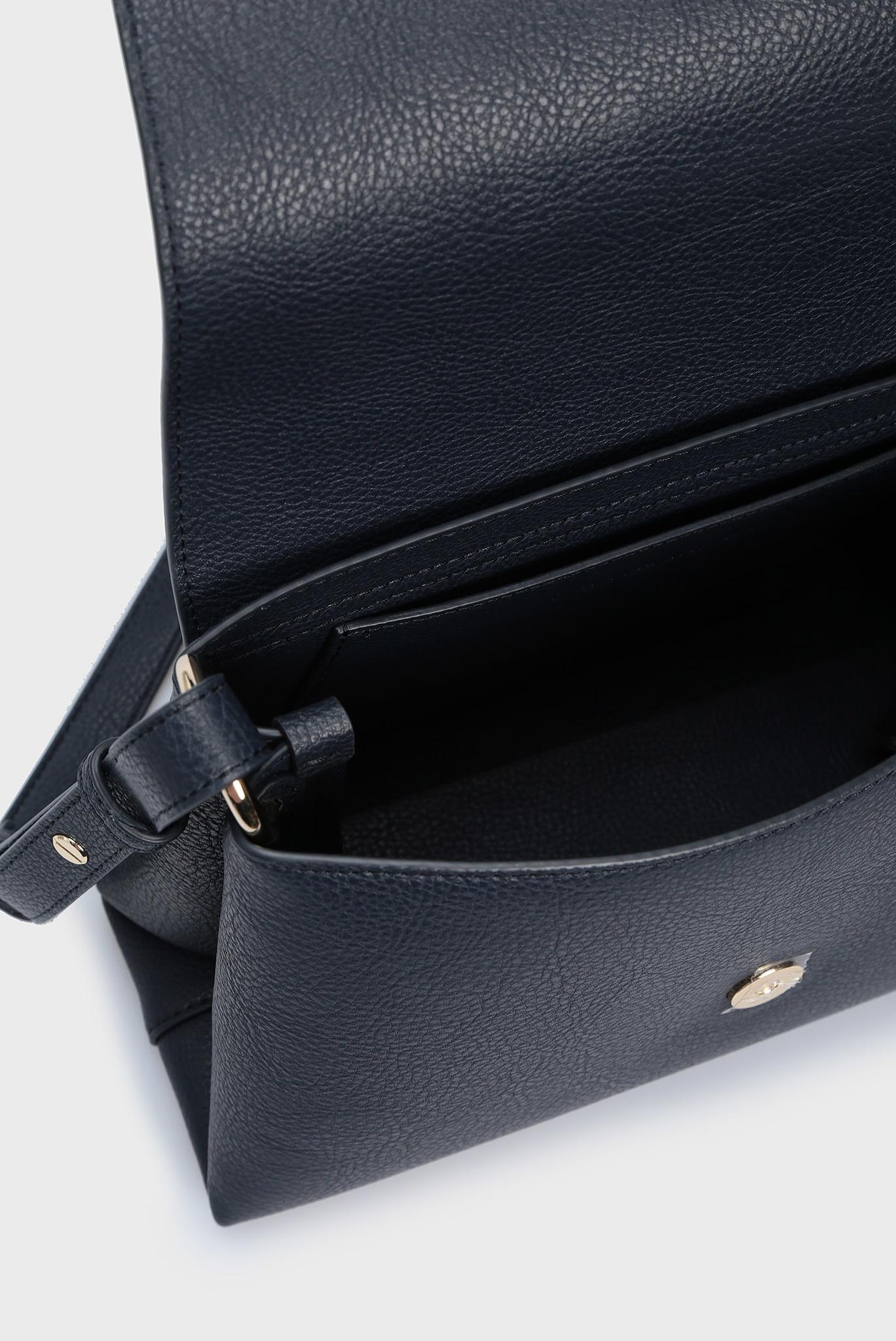 Женская темно-синяя сумка через плечо TH CORE FLAP Tommy Hilfiger