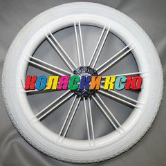Колесо для детской коляски №003106 надув 14 дюймов (44-288) 14х1 3/8х1 5/8 с тормозной шестеренкой.