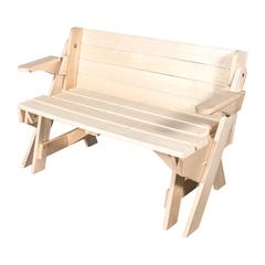 Скамья-стол раскладная 120х80х40 см
