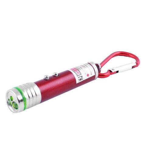 Брелок 118-2LED (лазер/фонарик) (3xLR44)