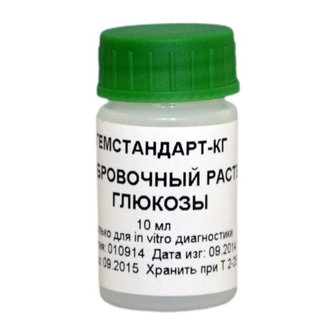 Калибровочный раствор глюкозы 10 мМ, 1 фл. х 5 мл