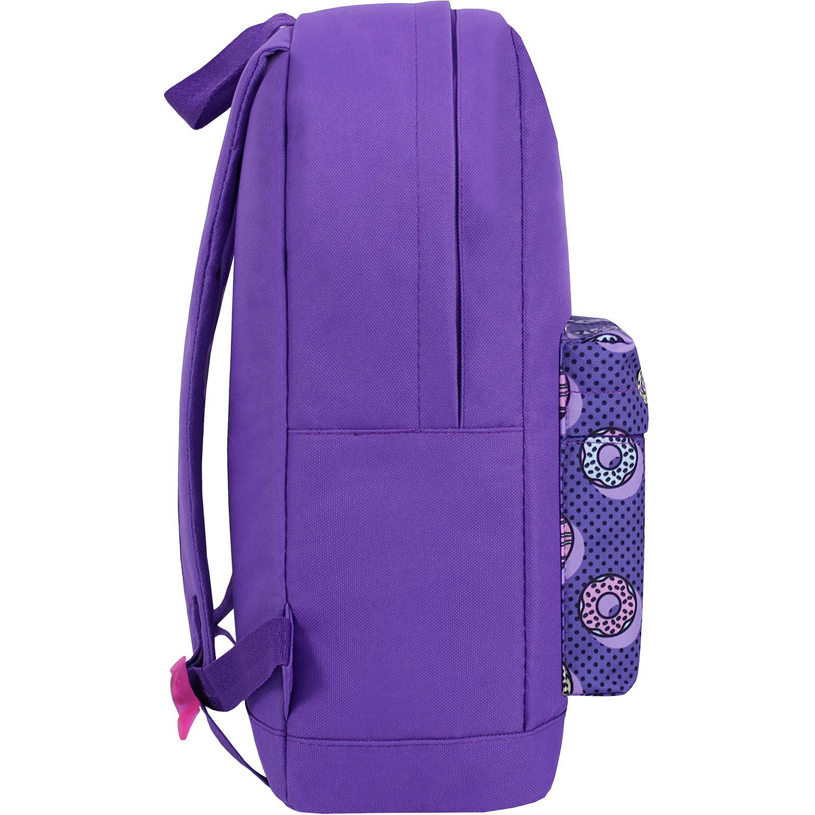 Рюкзак Bagland Молодежный W/R 17 л. 339 Фиолетовый 745 (00533662) фото 2