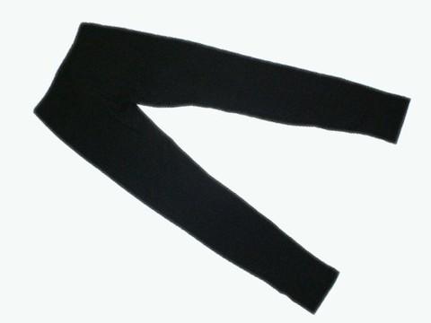 Лосины детские. Цвет чёрный. Размер 44. :(Л23-361):