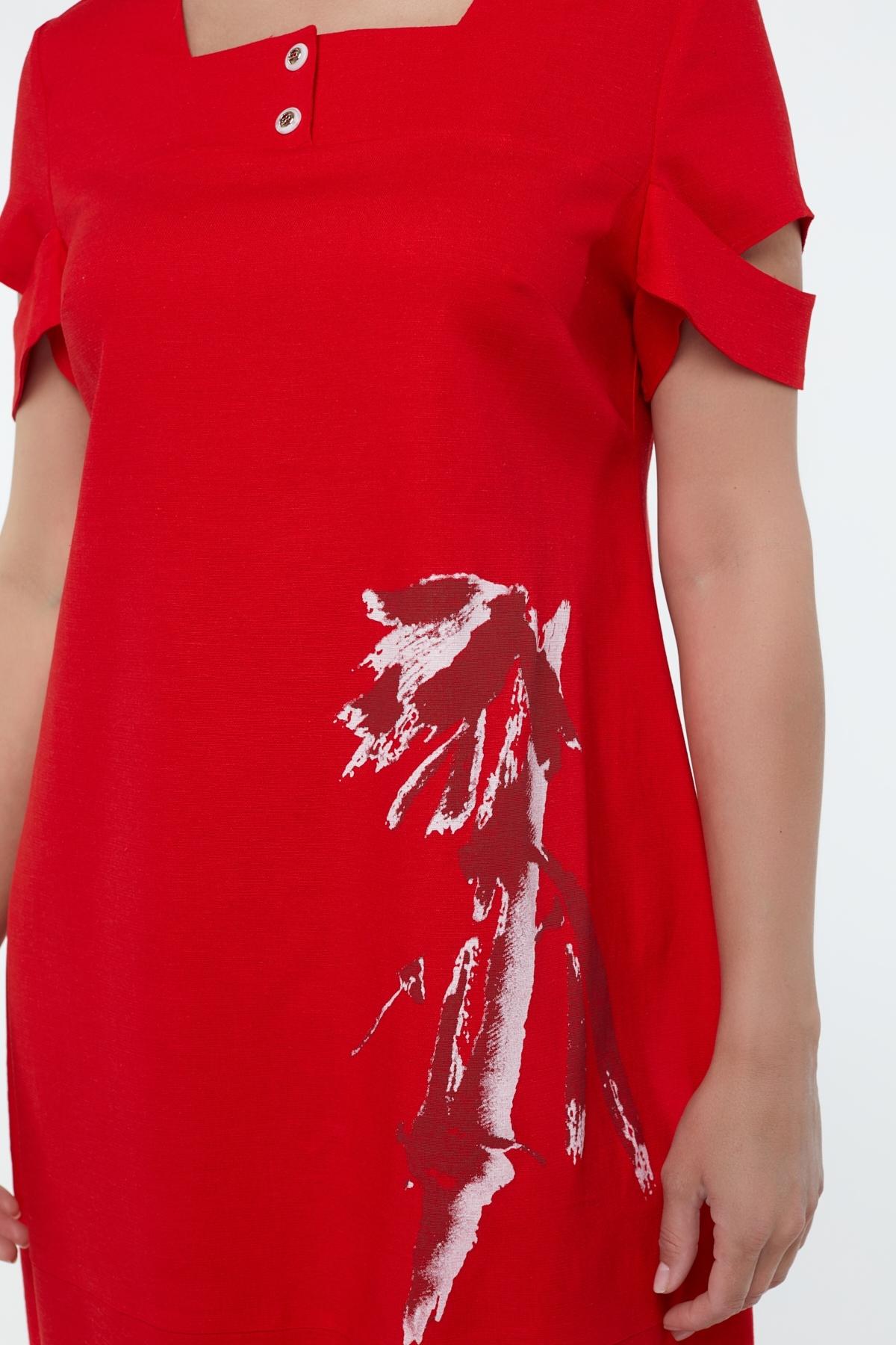 Сукня Каріна (Карина) (червоний)