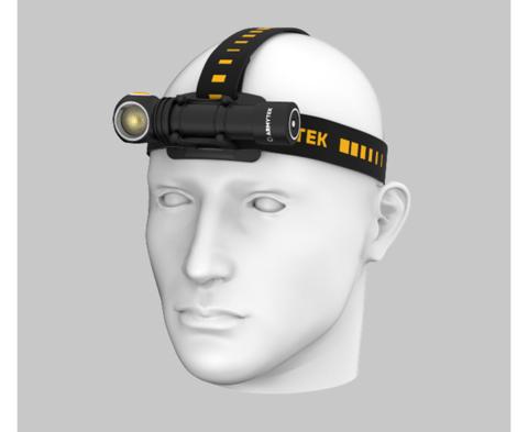 Налобный фонарь Armytek Wizard C2 Magnet USB (теплый свет) F08901W