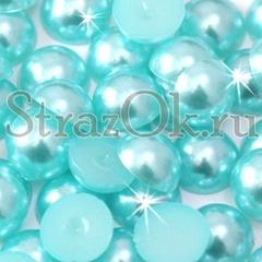 Купите полубусины Aquamarine бирюзовый в интернет-магазине StrazOK.ru