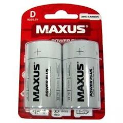 Батарейки Maxus R20, D (2/12) BL