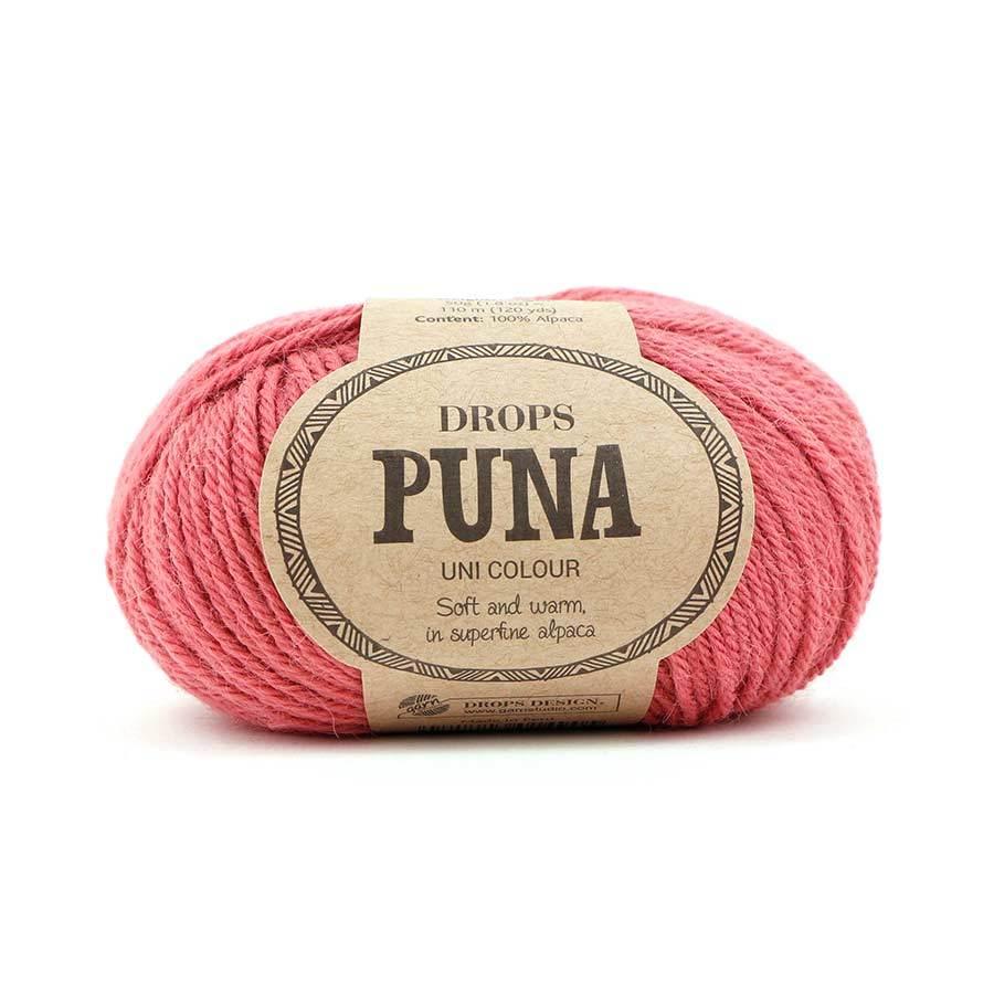 Пряжа Drops Puna 10 розовый