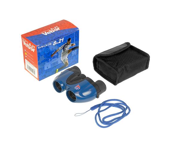 Бинокль Veber 8х21 (Топаз) - комплект поставки, сумка-чехол, ремешок