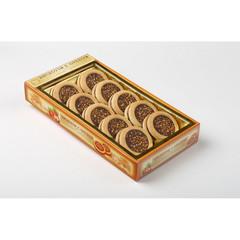 Печенье сдобное Бискотти глазированное с орехом 245 г