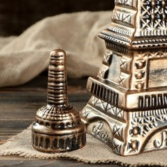 Штоф с рюмками «Париж», 7 предметов, 1 л, фото 3