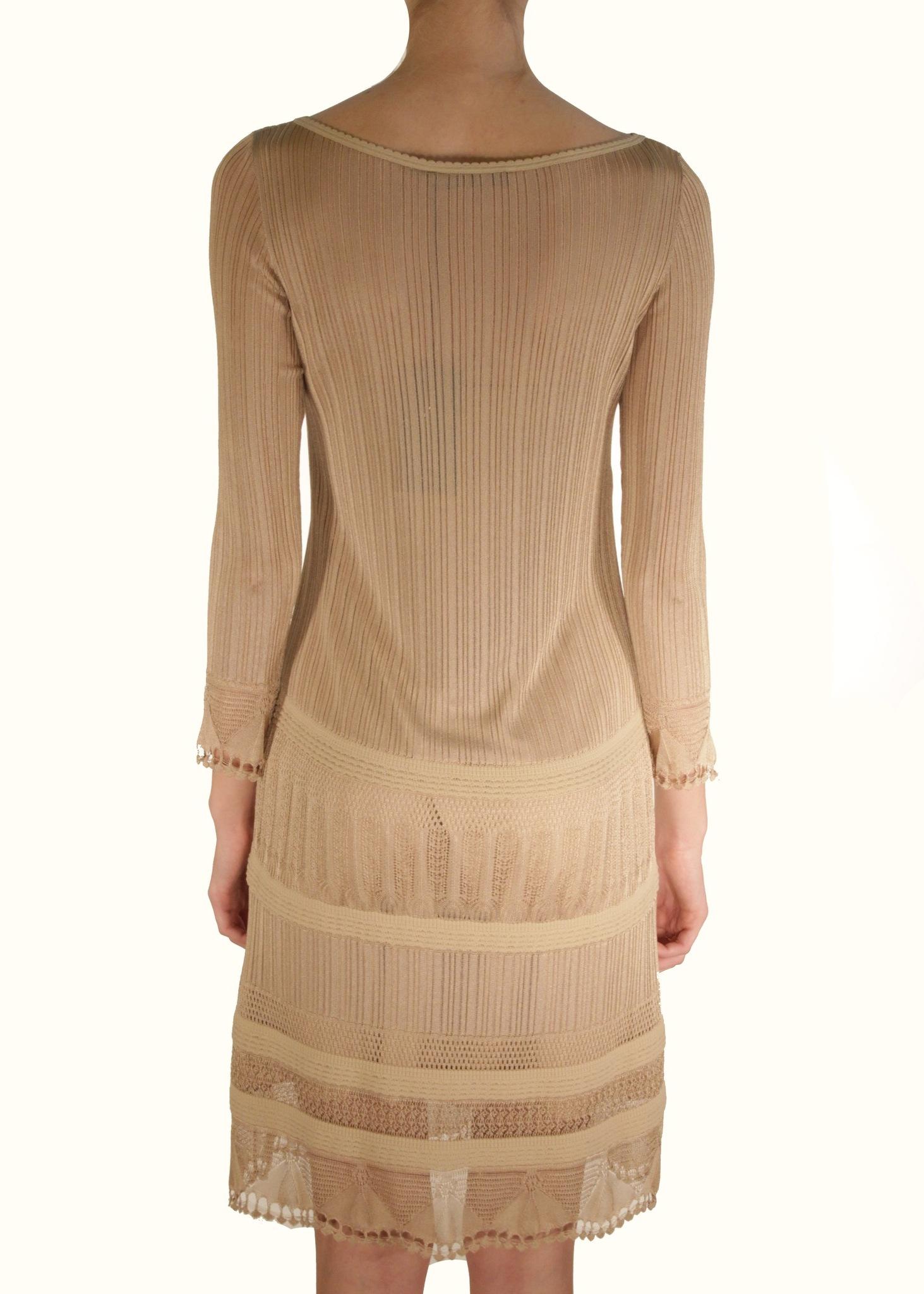 Платье из вискозы ALBERTA FERRETTI