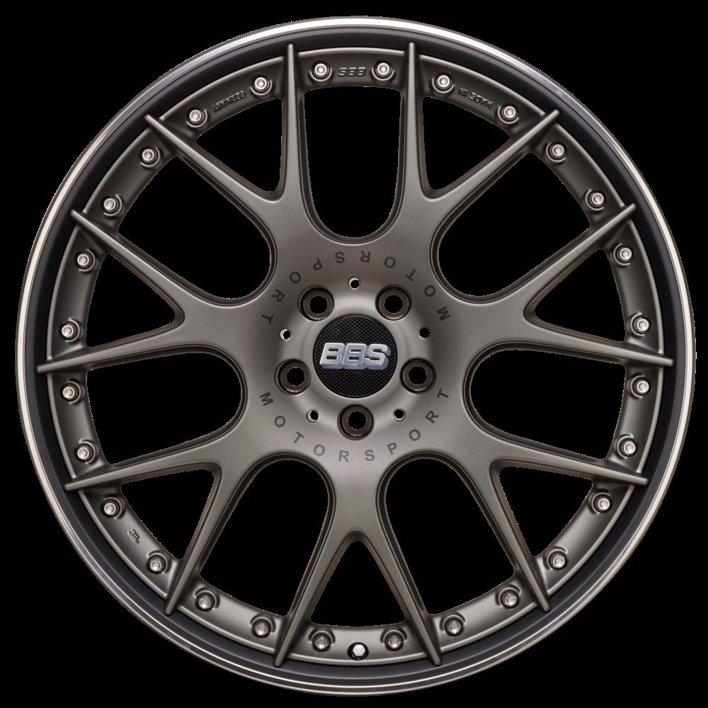 Диск колесный BBS CH-R II 10.5x22 5x130 ET50 CB71.6 satin platinum