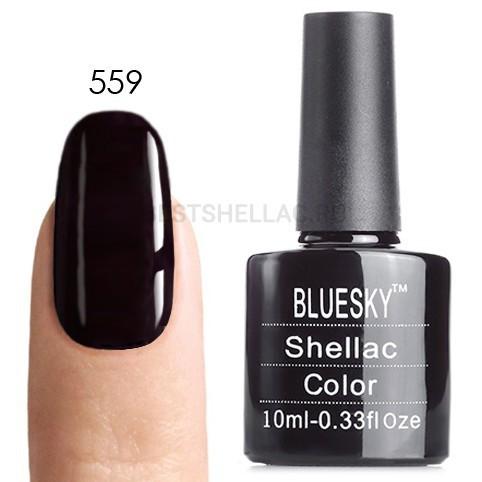 Bluesky Shellac 40501/80501 Гель-лак Bluesky № 40559/80559 Dark Dahlia, 10 мл 559.jpg