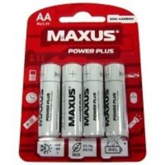Батарейки Maxus R6, AA (4/48) BL