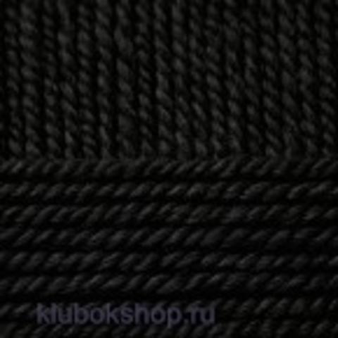 Пряжа Зимний вариант (Пехорка) 02 Черный - купить в интернет-магазине недорого klubokshop.ru