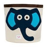 Корзина для хранения 3 Sprouts Слон (синий)