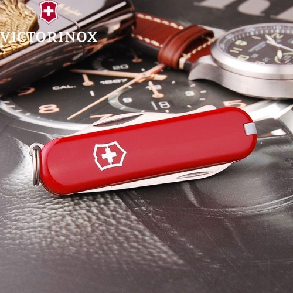 Нож-брелок Victorinox Rally (0.6163) 9 функций, 58 мм. в сложенном виде | Wenger-Victorinox.Ru