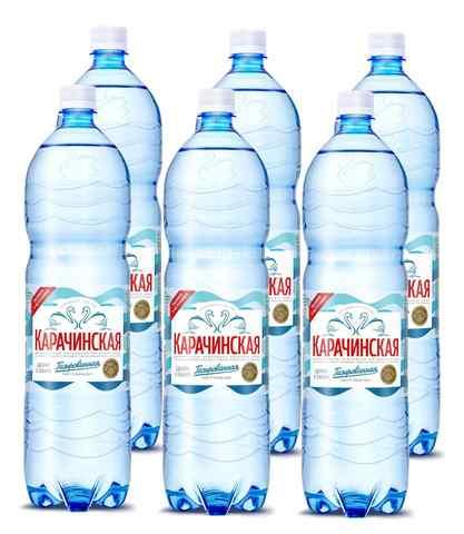 """Минеральная вода """"Карачинская"""" 1,5л 6шт"""