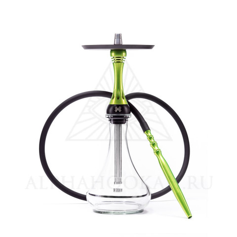 КАЛЬЯН ALPHA HOOKAH MODEL X Lime