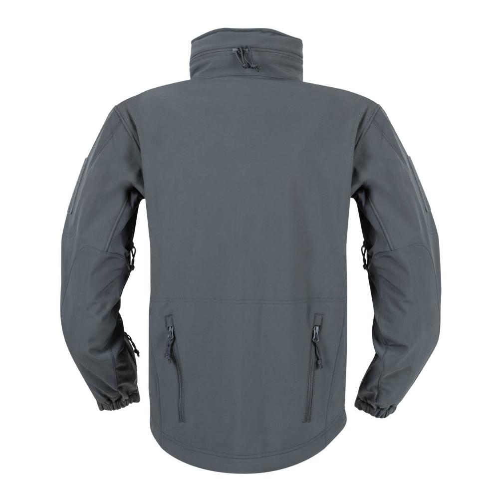 Куртка Helikon GUNFIGHTER Jacket - Shark Skin Windblocker - Shadow Grey