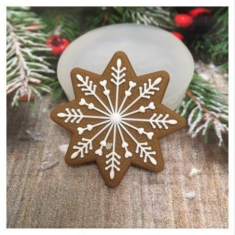Молд « Новогоднее печенье Снежинка-1»