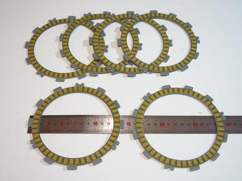 диски сцепления 6шт Kawasaki ZXR400 KLR250 VN250