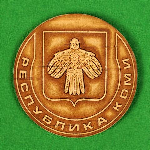 Магнит Республика Коми герб