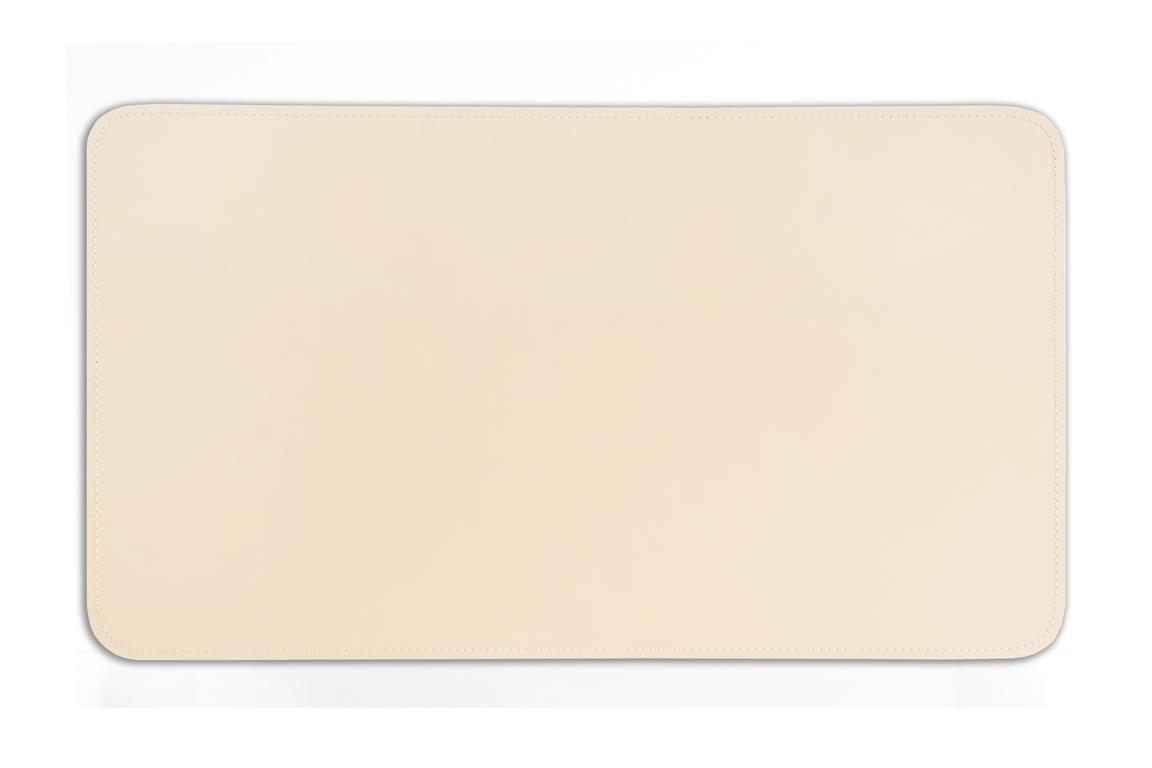 Бювар из итальянской кожи Cuoietto модель №9 цвет слоновая кость.