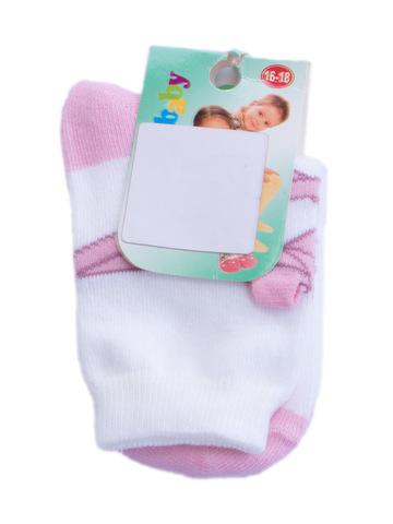 Носки Дюна детские розовые р.16-18