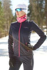 Детская тёплая лыжная куртка Nordski Motion BlueBerry/Pink