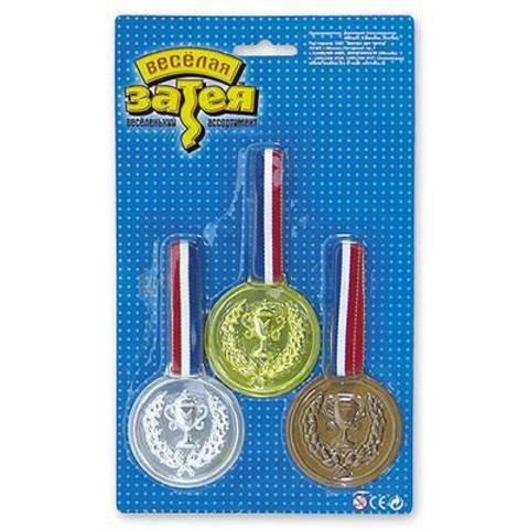 Медаль чемпиона 3шт