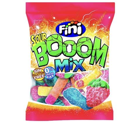 Жевательный мармелад Fini Sour boom mix 100 гр