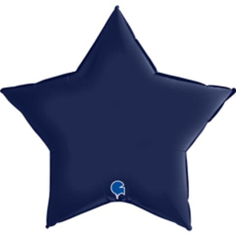 Г Звезда, Темно-синий, Сатин, 36