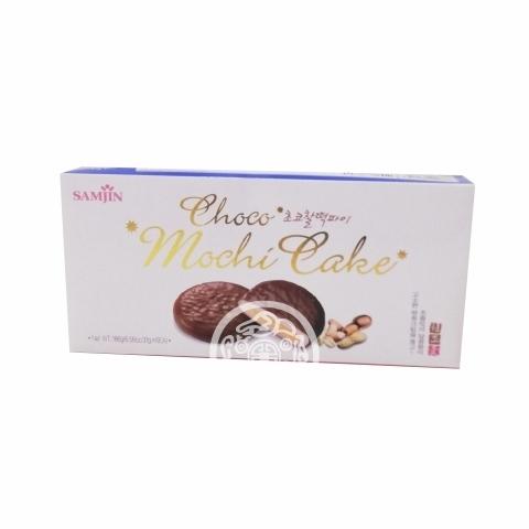 Моти шоколадное с ореховой начинкой Komiang Pie 31гр*10шт Корея