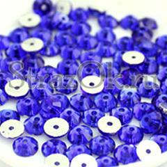 Где купить пришивные стразы с одним отверстием Sapphire синие
