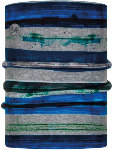 Двойной флисовый шарф-труба детский Buff Neckwarmer Polar Reversible Alb Multi фото 1