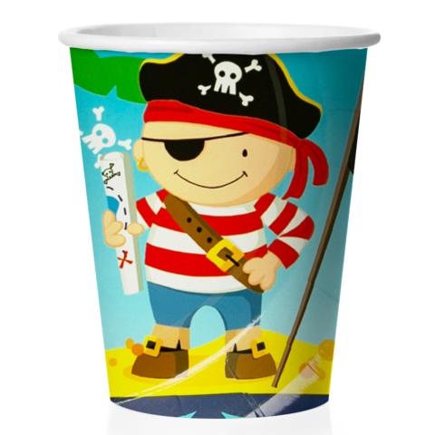 Стаканы (180 мл) Пираты, 6 шт.