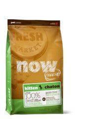 Беззерновой корм для котят, NOW FRESH, с индейкой, уткой и овощами