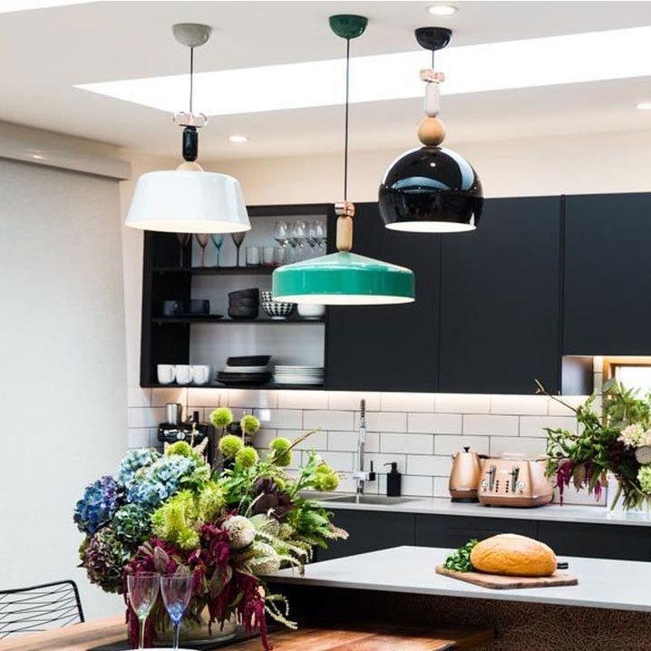 Подвесной светильник копия Bon Ton N3E1 by YUUE Design Studio (серый)