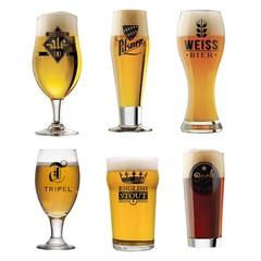 Набор пивных бокалов l'Hedoniste 6 шт, фото 8