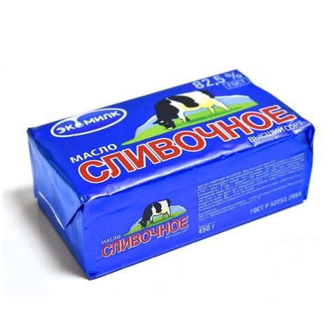 Масло сливочное 82.5% Монастырская продукция 1кг