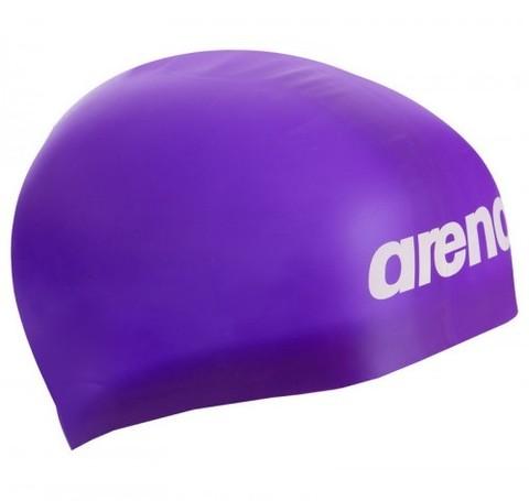 Шапочка для плавания  ARENA Moulded Silicone Фиолетовый