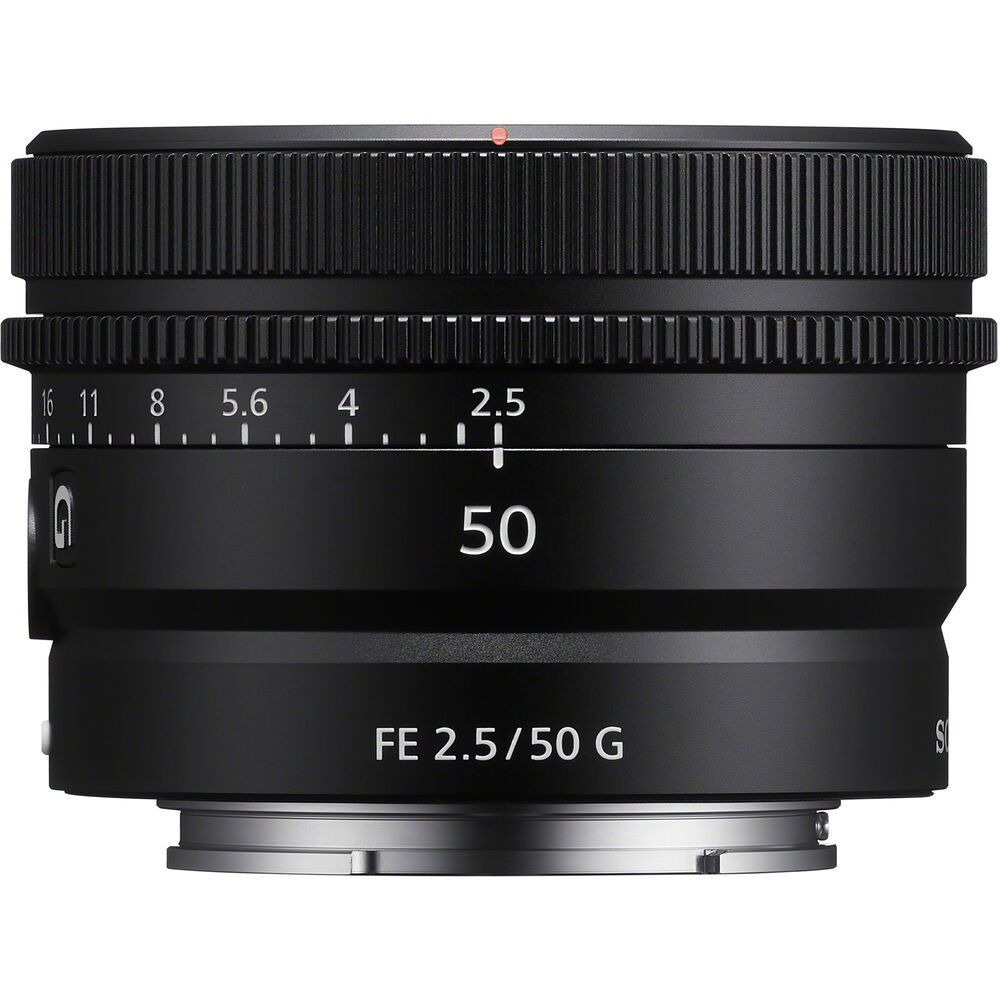 Объектив Sony SEL50F25G купить у официального дилера