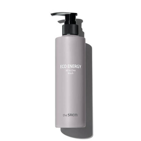 The Saem Eco Energy All In One Wash очищающее средство 3в1 для мужчин