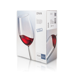 Набор бокалов для красного вина 770 мл, 2 шт, Diva, фото 4